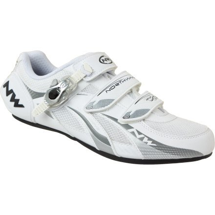 Northwave Fighter Road Shoe S.B.S. Fastening White Size 45