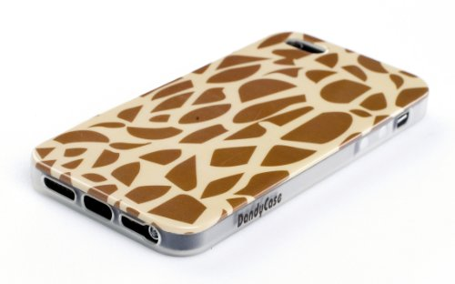 Giraffe Flexible TPU Case  Clear Sides for Apple