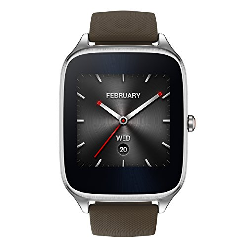 ASUS ZenWatch 2 WI501Q-SR-BW-Q 1.63-inch AMOLED Smart Watch with  Quick Charge - BROWN