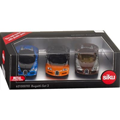 Die-Cast - Bugatti-Set 2 - Special Limited Edition Set - 6213B - Siku