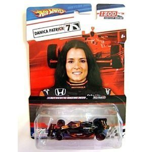 hot-wheels-black-orange-izod-indycar-series-real-riders-danica-patrick-7-boost-mobile-go-daddy-by-ma