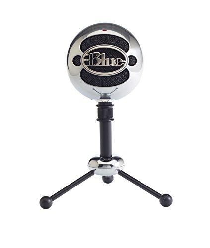 Blue Microphones Snowball Microfono USB, Alluminio satinato