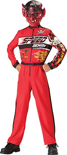 Boys Speed Demon 2B Kids Child Fancy Dress Party Halloween Costume