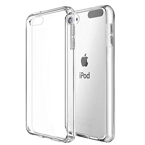 ipod touch 6th generation case,iPod Touch 6 Case,by Ailun,for iPod Touch 6th & 5th Generation,Shock-Absorption Bumper,TPU Clear cover[Crystal Clear] (Ipod Touch 5 Bumper Case compare prices)