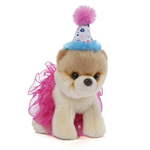 Gund Itty Bitty Boo #027 Birthday Tutu Plush, 5""