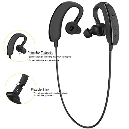 best bluetooth headphones for running reviews bluetooth headphones allimity wireless. Black Bedroom Furniture Sets. Home Design Ideas