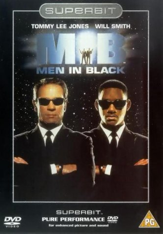 Men In Black --Superbit [DVD] [1997]