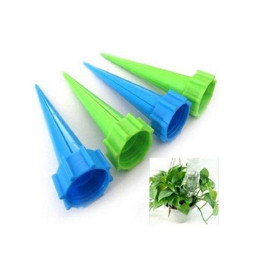 12 pezzi/confezione annaffiatoio da giardino con spuntoni per irrigazione automatica piante a fiore, kit per irrigazione goccia d'acqua