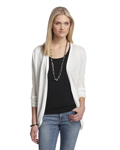 Cotton Addiction Women's Dolman Cardigan  [White]