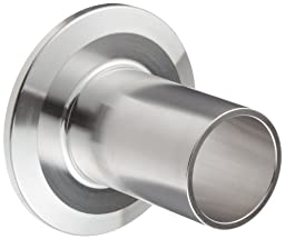 Dixon TL14AM7-100PL Stainless Steel 316L Sanitary Fitting, Automatic Weld Clamp Ferrule, 1\