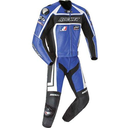 Joe Rocket ジョーロケット Speed Master 5.0 Two Piece Suit レーススーツ ブルー 48