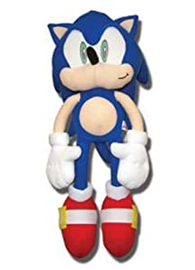 "GE Animation Sonic The Hedgehog: 20"" Sonic Plush by Japan VideoGames"