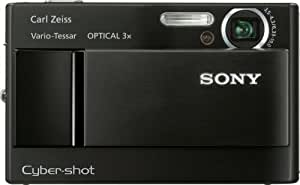 Sony Cybershot DSC-T10 7.2MP Digital Camera with 3x Optical Steady Shot Zoom (Black)