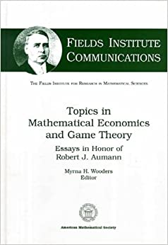 essays in game theory in honor of michael maschler
