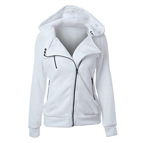 CHENGYANG-Sweats--Capuche-Manches-Longues-Hoodie-Top-uni-pull-zipp-casual-Jumper-Hauts-Veste-Automne-sport-sweat-shirt-femme
