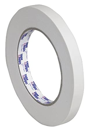 "Tape Logic T9332200 #2200 Masking Tape, 60 yds Length x 1/2"" Width, Natural (Case of 72)"