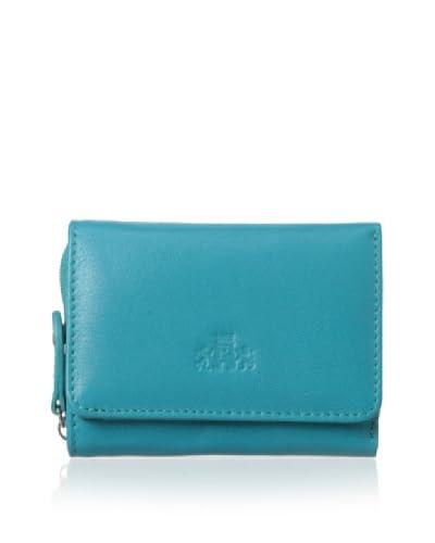 Rowallan of Scotland Women's Carmen Tri-fold Wallet, Teal