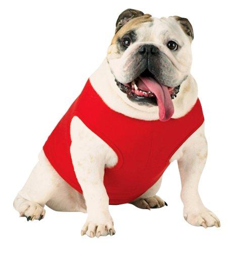 Doggie Skins Baby Rib Tank - Red - L
