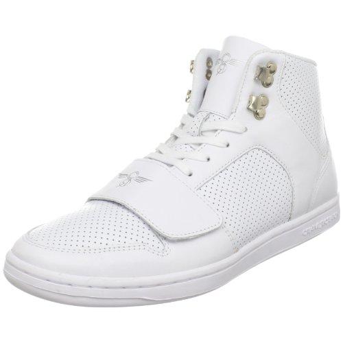 Creative Recreation Men's Cesario Classic High-Top Sneaker,White,7.5 M US