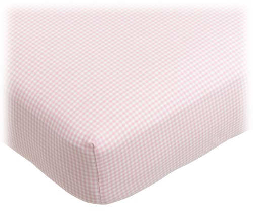 Tadpoles Classic Gingham Fitted Sheets - Set/2 - Pink