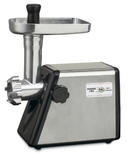 Waring MG100 Meat Grinder, 300-watt, Stainless Steel (Waring Pro 150 compare prices)