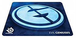 SteelSeries QcK+ Gaming Mouse Pad-Evil Geniuses Edition