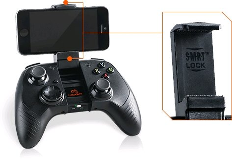 MOGA Rebel Premium iOS Gaming Controller – iPhone/iPad/iPod (Mac)