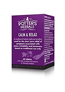 Potters Herbals New Relax - Pack of 60 Tablets