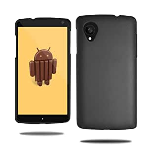 RKA Premium Hybrid Rubberised Hard Back Case Cover for Lg Google Nexus 5 D820 Black
