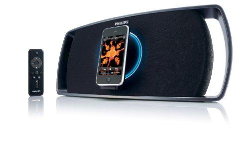 Philips Revolution Motorized Portable Speaker Dock For Iphone/Ipod
