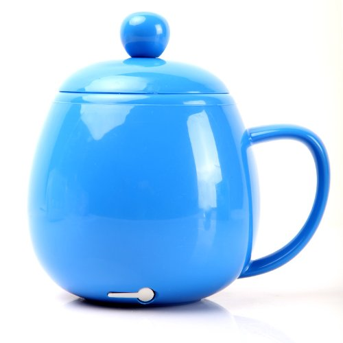 Newsky Usb Electric Kettle Coffee Tea Water Beverage Mug Cup Warmer Heater Blue