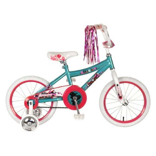 Piranha Girl's Melody Bike (Aqua/White, 16-Inch)