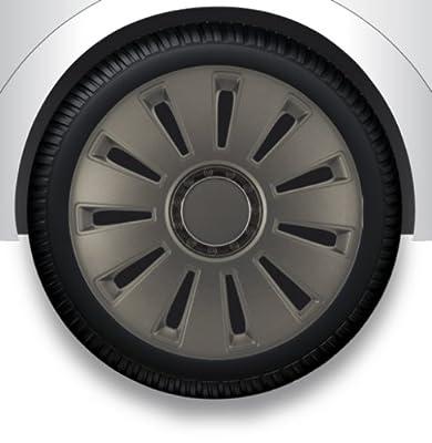 """Radzierblenden Radkappen Radabdeckung 13"""" Zoll #7 GRAU ABS von ZentimeX - Reifen Onlineshop"""