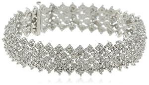 Sterling Silver 3.0 Cttw Diamond Bracelet