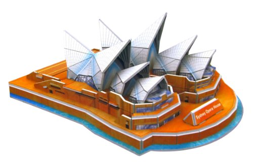 Sydney Opera House 3D Puzzle - 34 Pieces