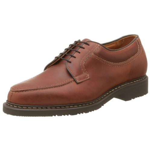 Allen Edmonds Men's Wilbert Moc Toe Oxford,Brown,10 E