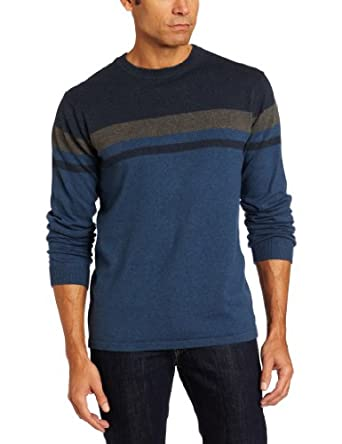 Quiksilver Waterman Men's Mid Shore Sweater, Blue, X-Large