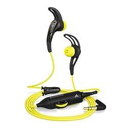 Sennheiser CX 680 Earfin In-Ear Sport Headphone (Yellow/Black)