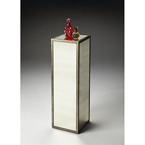 Loft 10.5 in. Mirrored Pedestal (Mirrored Pedestal compare prices)
