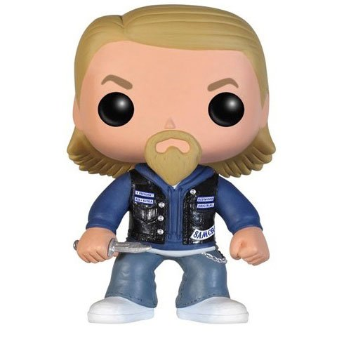 Funko Pop! Television Sons of Anarchy Jax Teller Action Figure, Multi Color