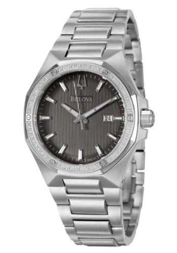 Where Can I Buy Bulova Diamonds Men's Quartz Watch 96E111