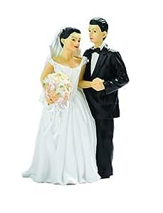 Hispanic Bride & Groom Couple Figurine