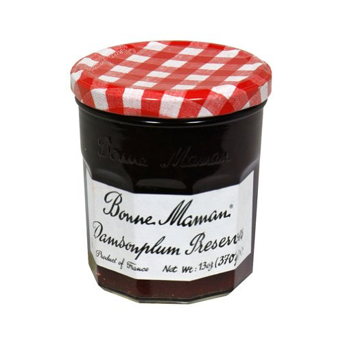Bonne Maman Damson Plum Preserves, 13-Ounce Jars (Pack of 6)
