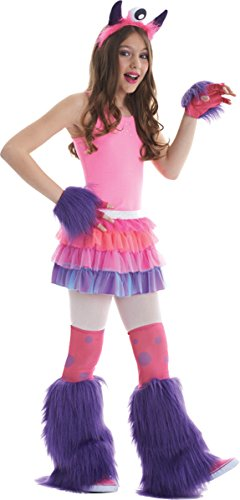 Morris Costumes Halloween Party Kits Monster 3 Piece Pink/Purple