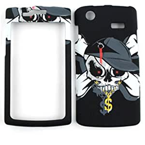 SAMSUNG CAPTIVATE (GALAXY S) I897 GANGSTER SKULL HAT: Cell Phones