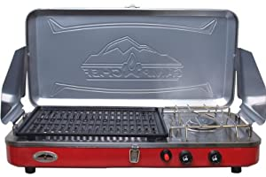 Camp Chef Rainier Grill and Portable Camp Stove by Camp Chef