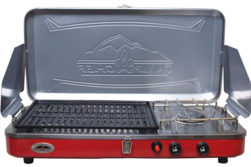 Camp Chef Rainier Grill and Portable Camp Stove