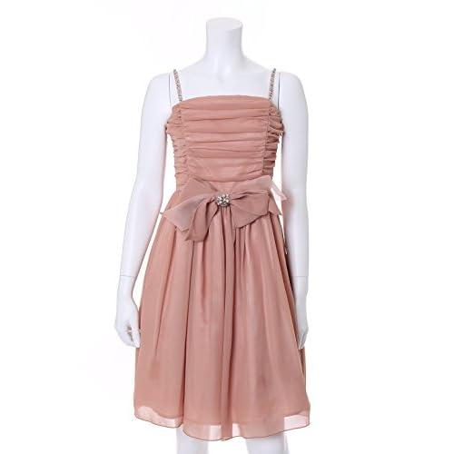 (クリアインプレッション)Clear Impression dress リボン付きドレス サーモンピンク 03