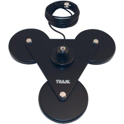 Tram 269 triple 5 quot magnet cb antenna mount vs firestik ss 3h