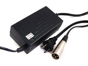 36 Volt 1.5A XLR scooter battery charger for IZIP I600/I750/I1000 Electric Scooter,Razor MX500/MX650 Dirt Rocket from sunvalleytek